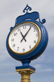 Train Station Clock Royalty Free Stock Photo