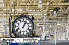 Train station clock Royalty Free Stock Photography