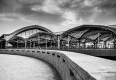 Cologne Germany. The train station in Cologne, Germany Royalty Free Stock Photo