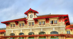 Train station of Dax - France, Landes Royalty Free Stock Image