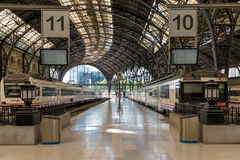 Train Station Estacio de Franca Barcelona Stock Photos