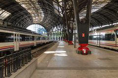 Train Station Estacio de Franca Barcelona Stock Images