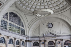 Train station, estacio de francia, interior lobby, designed for 1929 Barcelona International Exposition by Pedro Muguruza and Andr Royalty Free Stock Photography
