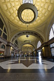 Train station in France, Barcelona Spain Royalty Free Stock Photo