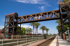 The train station. Royalty Free Stock Images