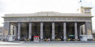Train station - Gara de Nord Stock Photo