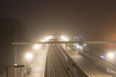 Train station Halfweg Stock Image