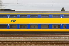 Train station in Hilversum Stock Photography