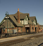 Train Station in Historical Flagstaff stock photos