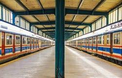 Train Station in Istanbul Haydarpasa. Train Station in Istabul, Haydarpasa. Currently out of use. Suburban train Royalty Free Stock Photo