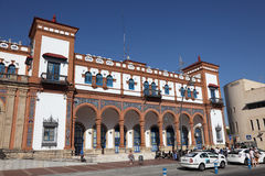Train station in Jerez. Spain Royalty Free Stock Photos