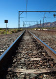 Train station in the Karoo Royalty Free Stock Photography