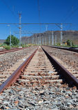 Train station in the Karoo Stock Photo