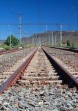 Train station in the Karoo Stock Photo