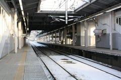 Train Station. At Karuizawa Japan Royalty Free Stock Image