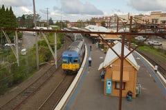 Train station of Katoomba Stock Images