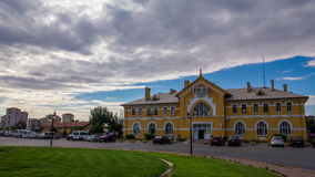 Train station in Kayseri/Turkey.  stock images