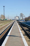 Train station in Kerch Stock Photography