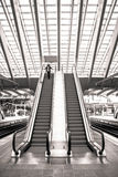 Train station in Liege, Belgium Stock Photo