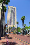 Train station in Los Angeles. California. USA Royalty Free Stock Image
