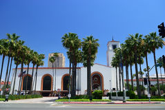 Train station in Los Angeles. California. USA Royalty Free Stock Photo