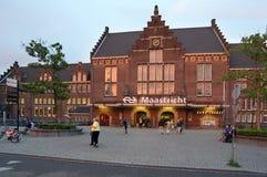 Train station of Maastricht, Netherlands Stock Image