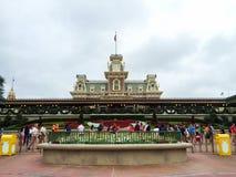 Train Station at the Magic Kingdo, Orlando, FL Royalty Free Stock Photo