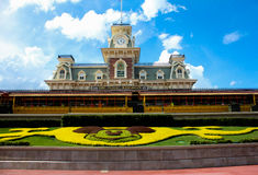 Train Station at Magic Kingdom. Royalty Free Stock Images
