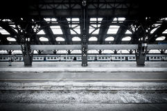 Train station in Milan Stock Images