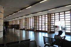 Train Station in Montecatini Terme Stock Photo
