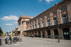 Train station in Mulhouse Stock Image