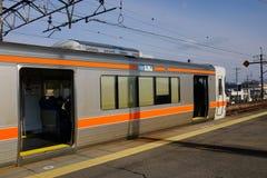 The train at station in Nagoya, Japan Royalty Free Stock Photos