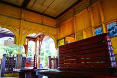 Train Station. Old train station in thailand royalty free stock image