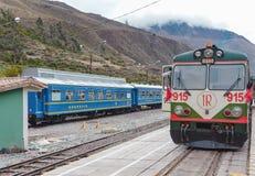 Train Station in Ollantaytambo, Peru Royalty Free Stock Photos