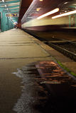 Train station Pardubice Stock Photography