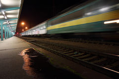 Train station Pardubice Royalty Free Stock Image