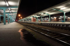 Train station Pardubice Royalty Free Stock Photography