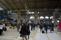Train station Paris, gare du nord paris Stock Photos