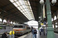 Train station Paris, gare du nord paris Royalty Free Stock Photo