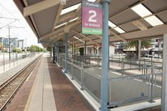 Train Station in Perth. Western Australia Royalty Free Stock Image