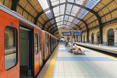 Train Station Piraeue Royalty Free Stock Photo