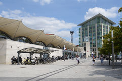 Train station of Poitiers, France Stock Photo