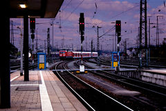 Train station Stock Image