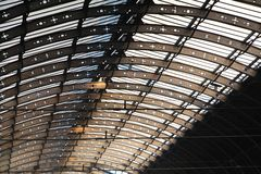 Train Station Roof Stock Photos