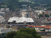 Train station in Salzburg Stock Photography