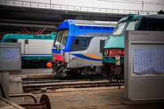 The train station Santa Lucia, Venice Stock Images