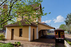 Train Station in Santo Angelo Brazil Stock Images
