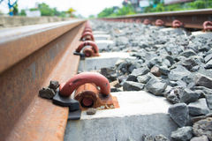 Train station. Train station shooting in Thailand Royalty Free Stock Photography