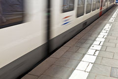 Train in the station Stock Image