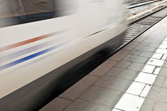 Train in the station Stock Photography